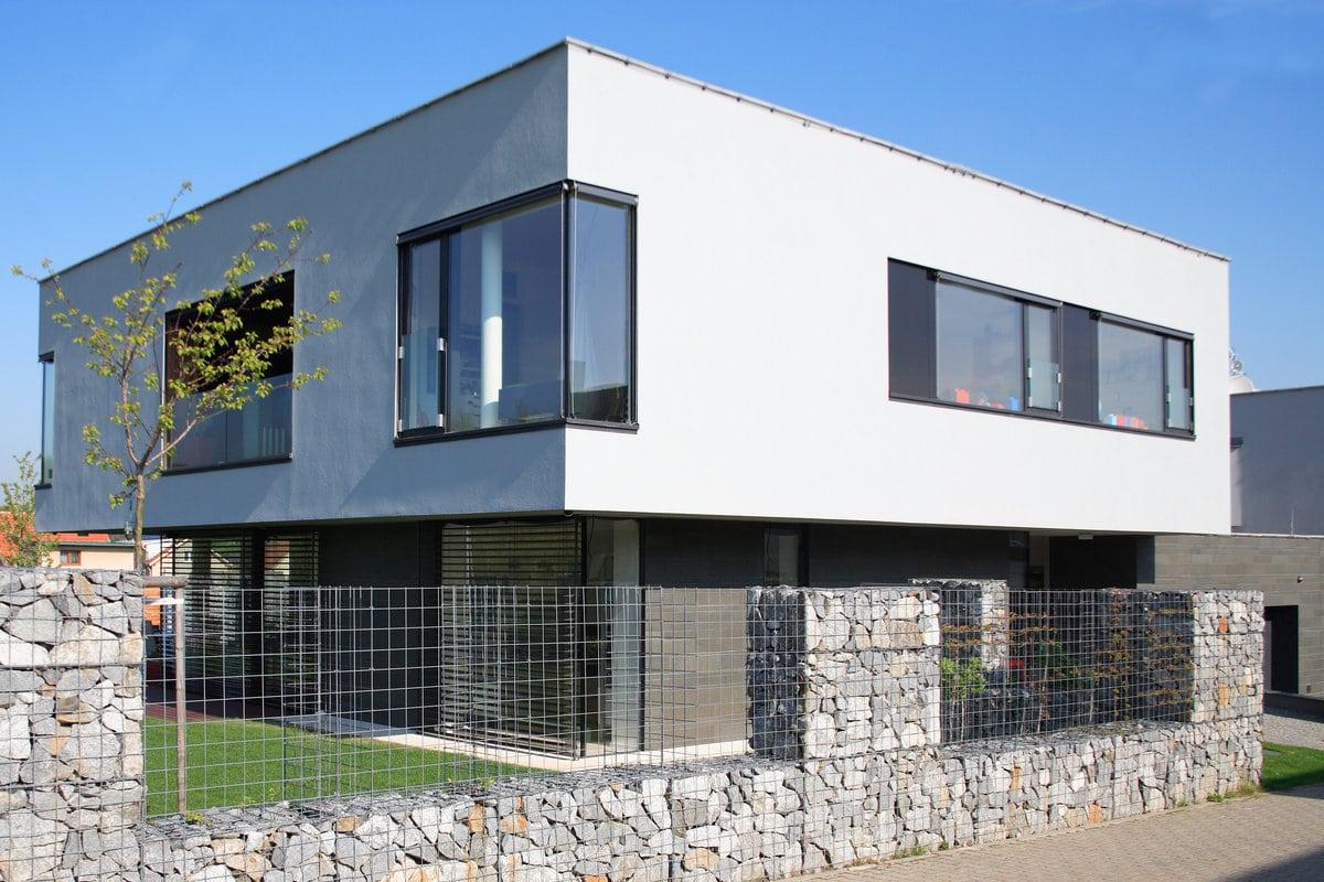 crepi gevel moderne woning